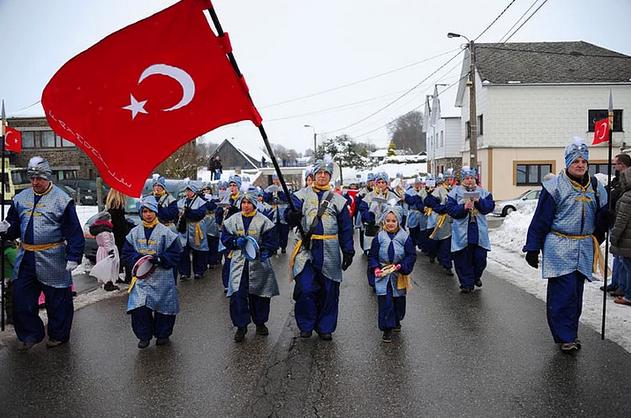 italya'da türk festivali