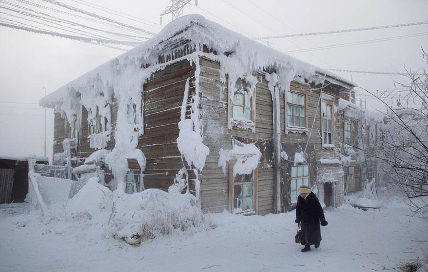 dünyanın en soğuk köyünde hayat