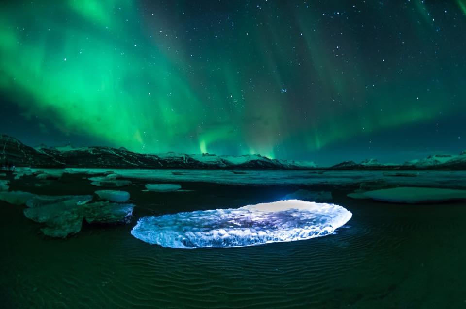 kuzey ışıkları kutuplar