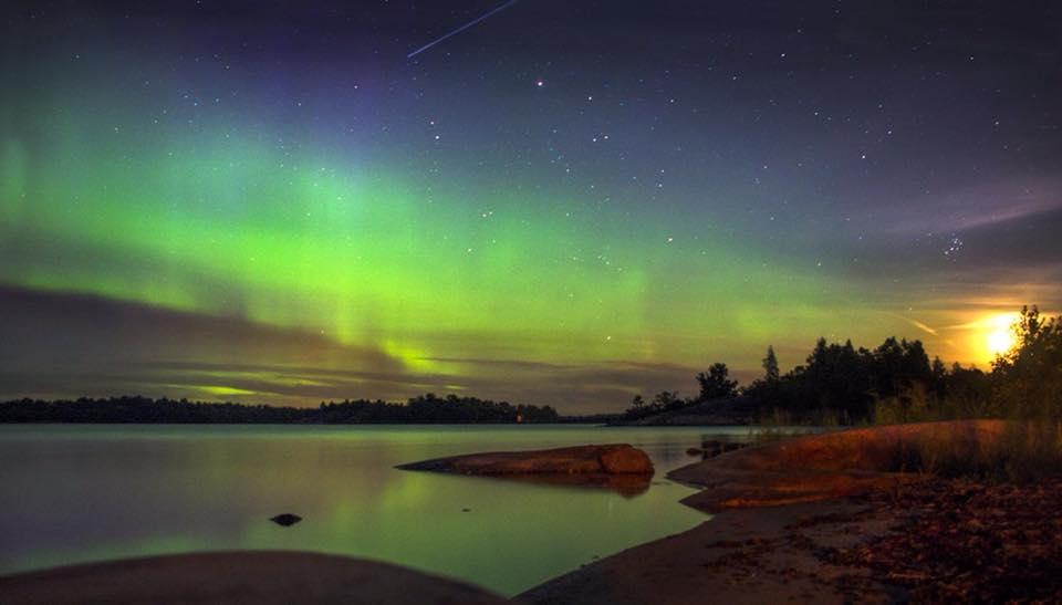 kuzey ışıkları norveç