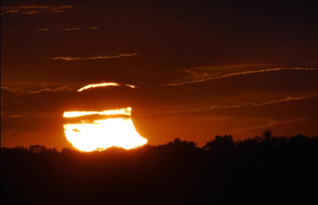 güneş tutulması fotoğraflar