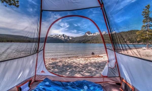 Kırmızı Balık Gölü, Idaho, Amerika Birleşik Devletleri