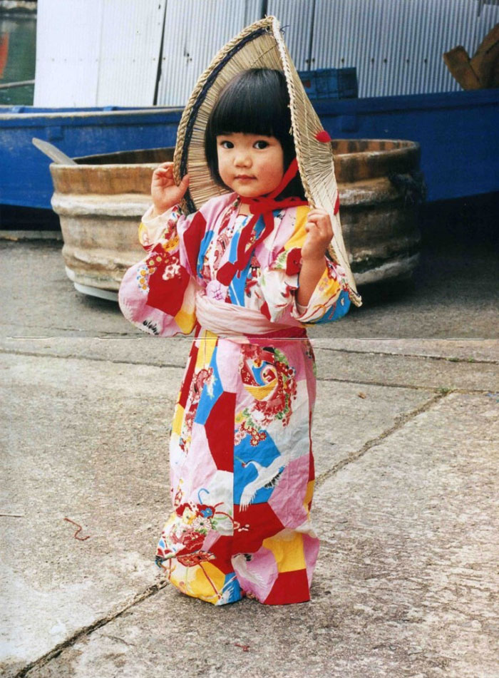 4 yaşındaki japon gezgin