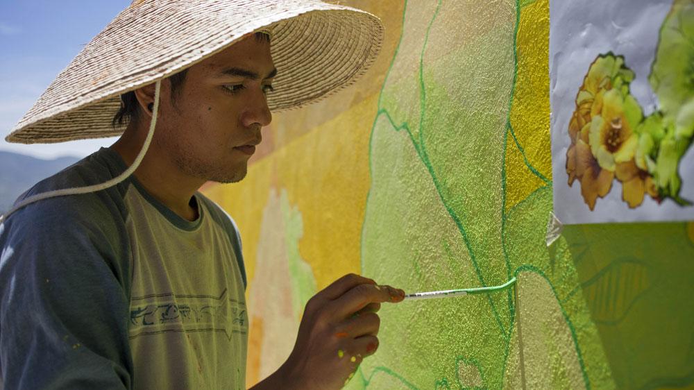 meksika eski mahkumlar grafitti