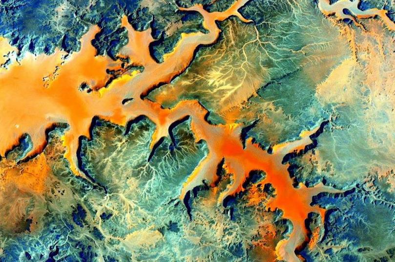 Scott Kelly uzay fotoğrafları 1