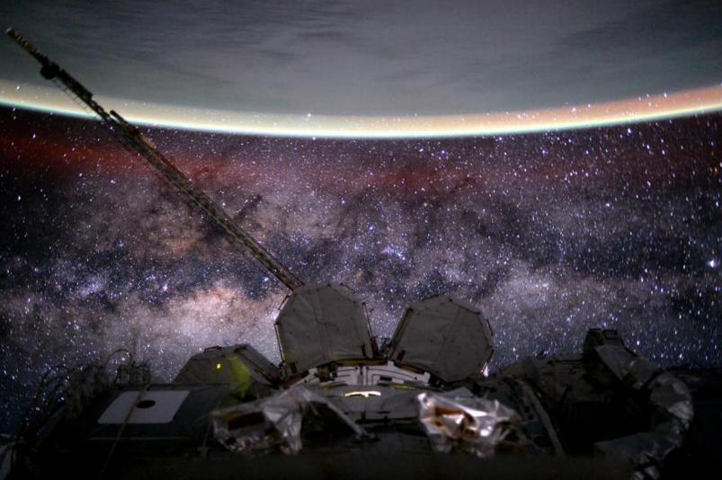 Scott Kelly uzay fotoğrafları 5