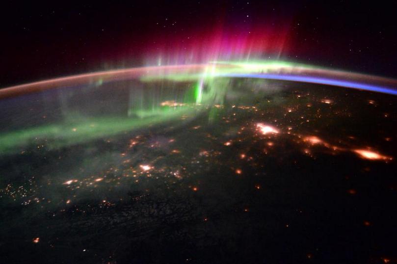 Scott Kelly uzay fotoğrafları 9