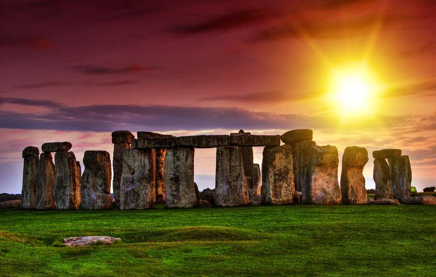 stonehenge ingiltere