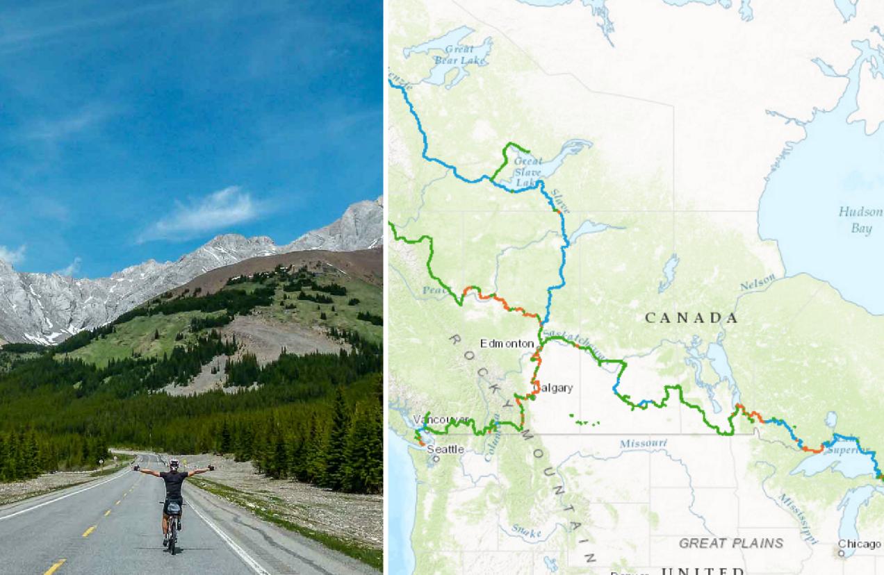 dünyanın en uzun bisiklet yolu